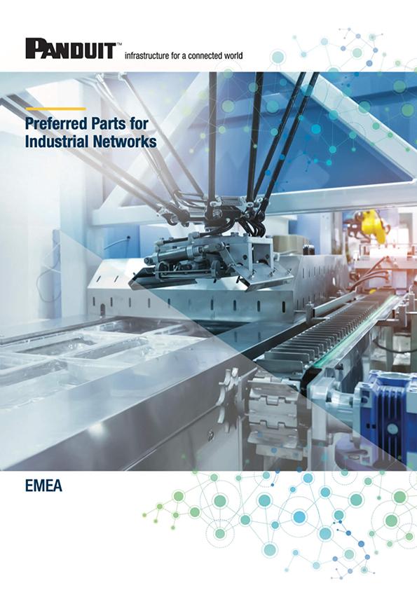 Panduit priporočeni proizvodi za industrijska omrežja