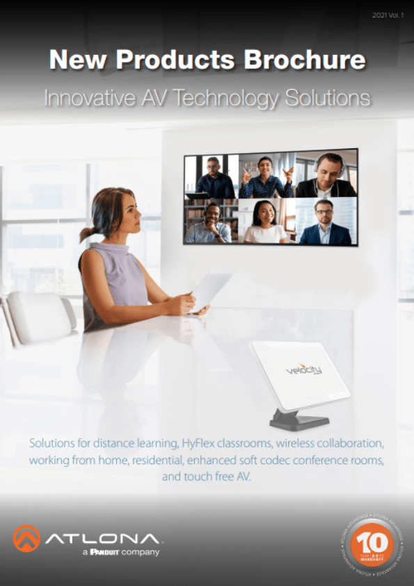 Atlona - New products brochure